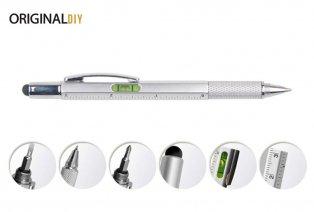 Multifunctionele 6-in-1 pen