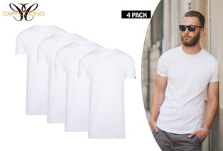 Pack of four cotton T-shirts