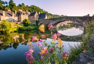 Halfpensionverblijf in het schilderachtige Dinan in Bretagne